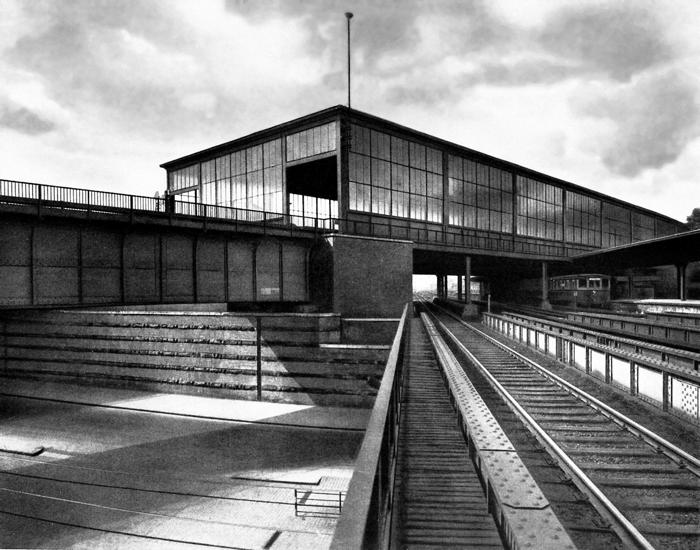 S. 354_700_S-Bahnhof Schöneberg_um 1935_Landesdenkmalamt Berlin